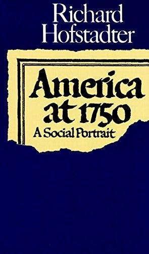 9780394717951: America at 1750: A Social Portrait