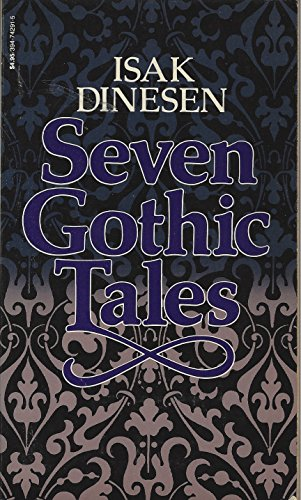 9780394718071: Seven Gothic tales,