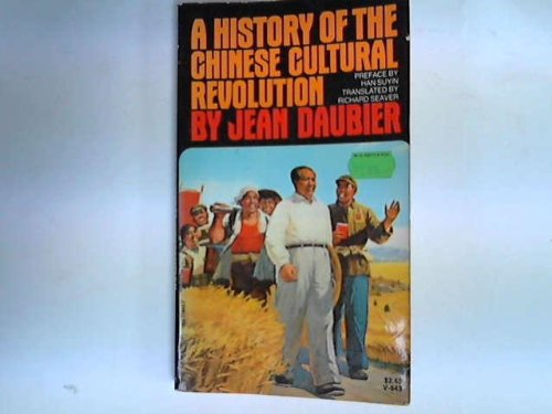 9780394718439: A history of the Chinese cultural revolution