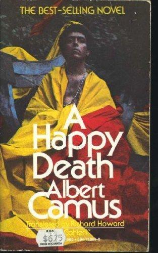 HAPPY DEATH V865 (His Cahier 1): Albert Camus