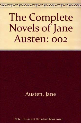 9780394718927: The Complete Novels of Jane Austen: 002