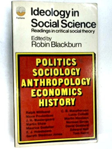 9780394719115: Ideology in Social Science
