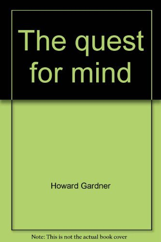 9780394719382: The quest for mind: Piaget, Levi-Strauss, and the structuralist movement