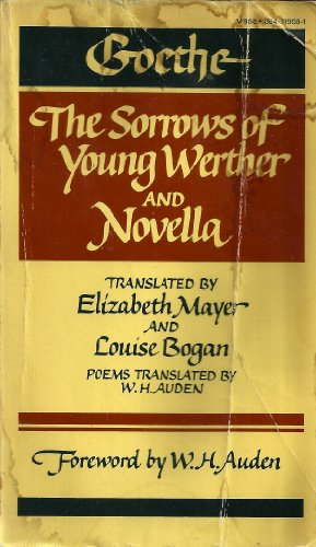 Goethe: The Sorrows of Young Werther and: Goethe