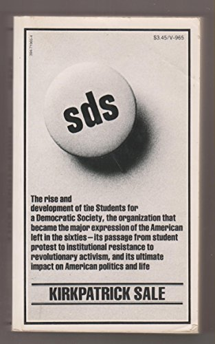 9780394719658: SDS (Students for a Democratic Society)