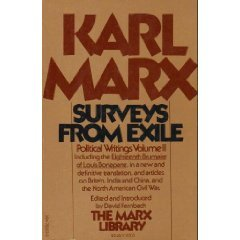 9780394720036: Karl Marx Political Writings (Volume 2): Surveys from Exile