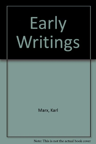 9780394720050: Early Writings (The Marx library)