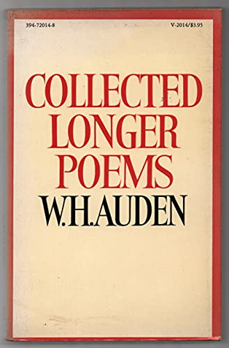 9780394720142: Collected Longer Poems