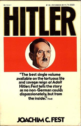 9780394720234: Hitler V2023