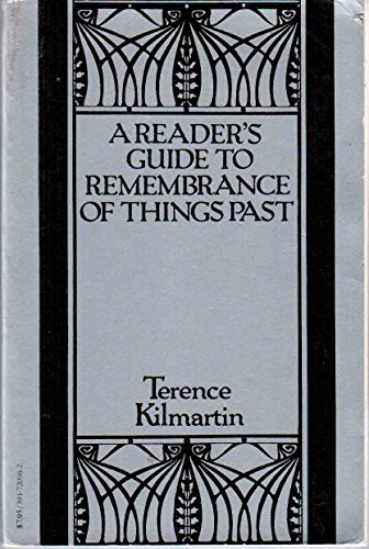 9780394720968: A Reader's Guide to Remembrance of Things Past