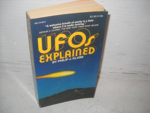 9780394721064: Ufos Explained