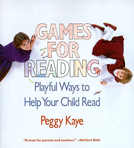 9780394721491: Games for Reading: Playful Ways to Help Your Child Read