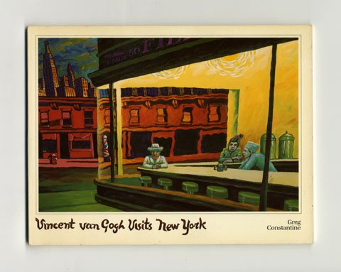 9780394721804: Vincent Van Gogh Visits New York