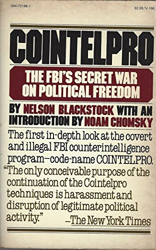 9780394721866: Cointelpro: The FBI's secret war on political freedom