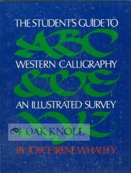 9780394721897: The Student's Guide to Western Calligraphy