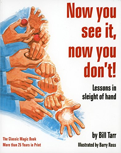 9780394722023: Now You See It, Now You Don't!: Lessons in Sleight of Hand