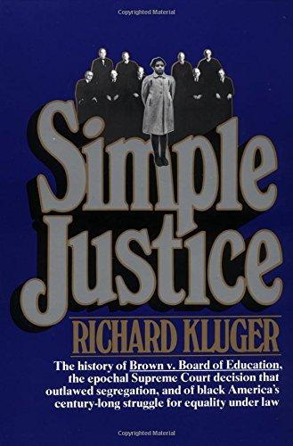 9780394722559: Simple Justice