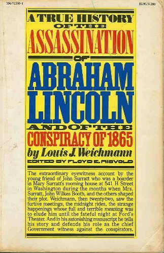 9780394722603: Title: A true history of the assassination of Abraham Lin