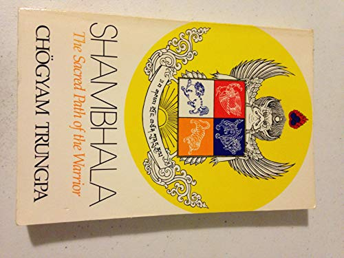 9780394723297: Shambhala: Sacred Path of the Warrior: The Sacred Path of the Warrior