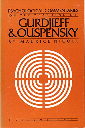 9780394723938: Psychological Commentaries on the Teaching of Gurdjieff and Ouspensky: 002