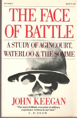 Face Of Battle Par John Keegan Vintage Books 9780394724034