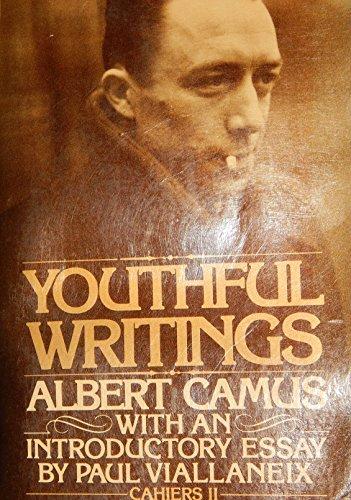 9780394724041: Youthful writings