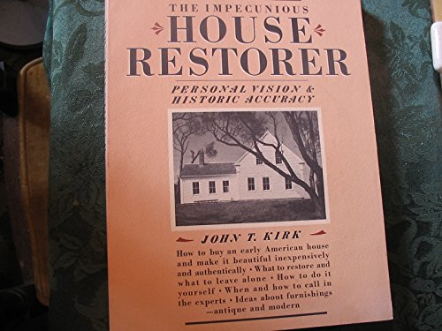 9780394724096: The Impecunious House Restorer