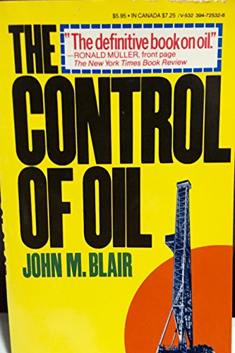 9780394725321: The control of oil
