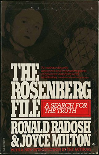 9780394725949: The Rosenberg File: A Search for the Truth