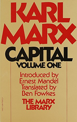 9780394726571: Capital: A Critique of Political Economy, Vol. 1