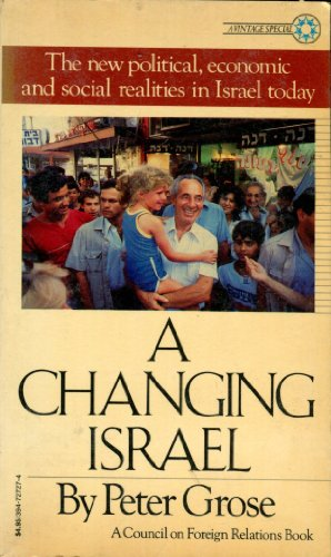 A Changing Israel: Council On Foreign Relations