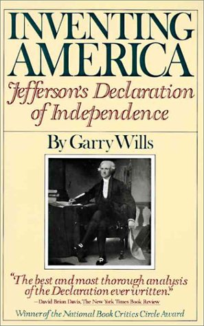 9780394727356: Inventing America: Jefferson's Declaration of Independence