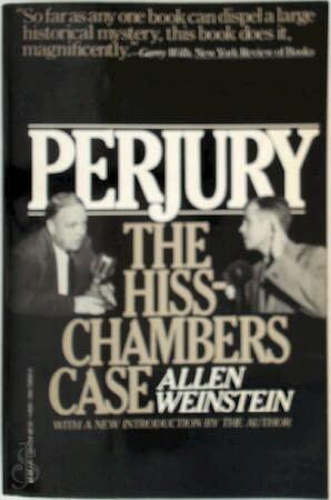 9780394728308: Perjury: The Hiss-Chambers case
