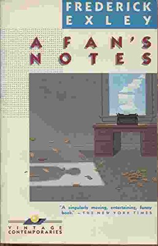 9780394729152: A Fan's Notes: A Fictional Memoir