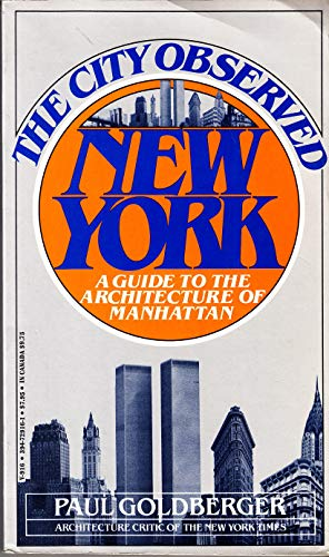 9780394729169: The City Observed: New York