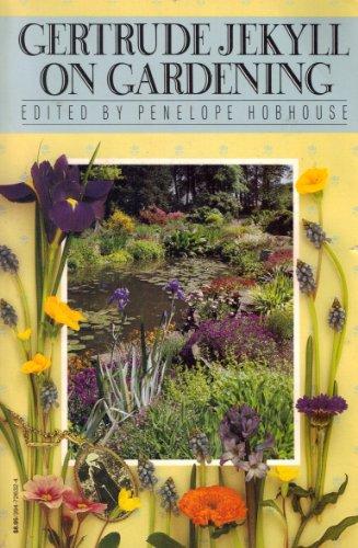 9780394729244: Gertrude Jekyll on Gardening