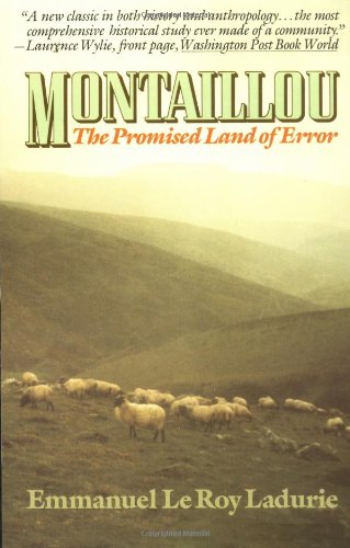 9780394729640: Montaillou: The Promised Land of Error