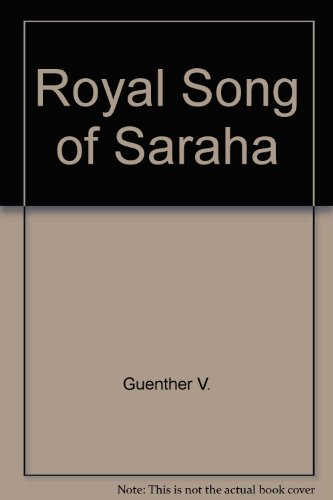 9780394730073: The Royal Song of Saraha