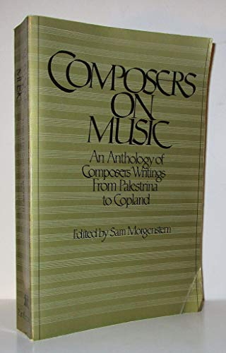 9780394730400: Composers on Music