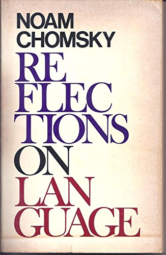 9780394731230: Reflections on Language