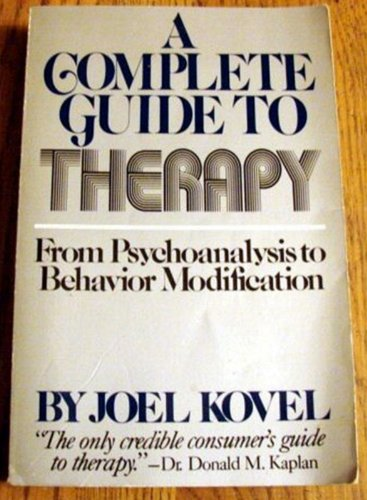 9780394733364: COMPLETE GUIDE TO THERAPY