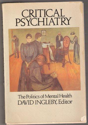 9780394735603: Critical Psychiatry
