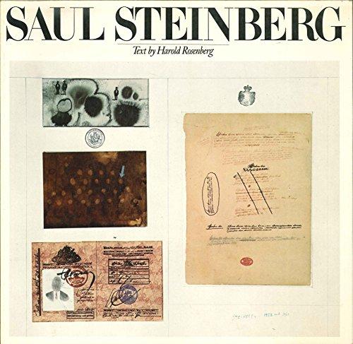 Saul Steinberg: Steinberg, Saul;Rosenberg, Harold;Whitney