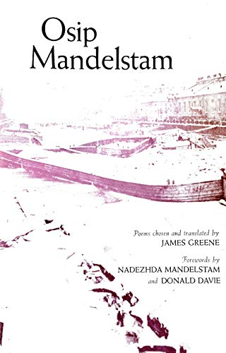 9780394736266: Osip Mandelstam: Poems chosen and translated by James Greene