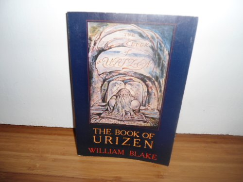9780394736297: The Book of Urizen