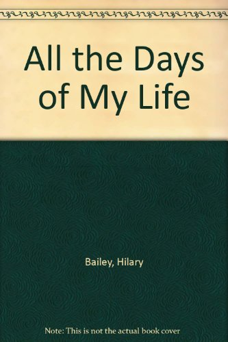 9780394738499: All the Days of My Life