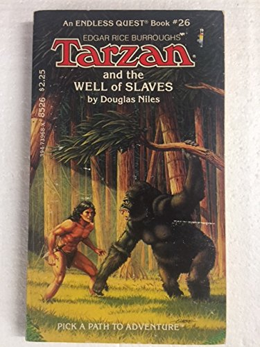 9780394739687: Tarzan and the Well of Slaves (Endless Quest Book, No. 26)