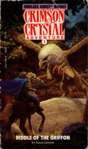 9780394739793: The Riddle of the Griffon (Crimson Crystal Adventure No 1) (Pick a Path to Adventure Book)