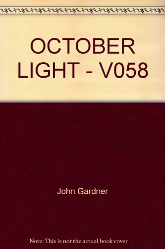 9780394740584: October Light - V058
