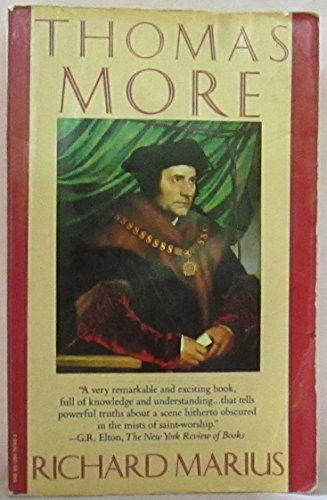 9780394741468: Thomas More